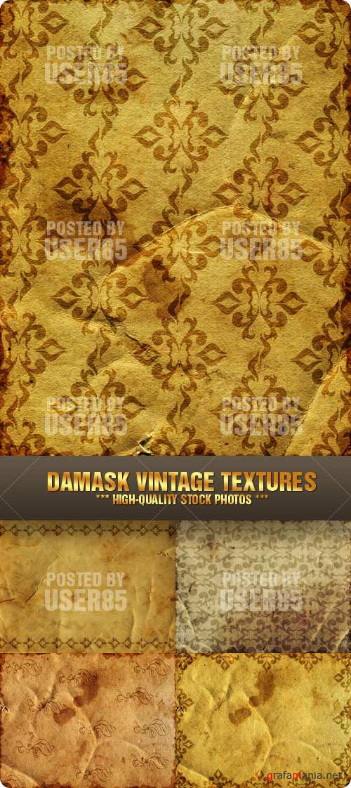 Stock Photo - Damask Vintage Textures