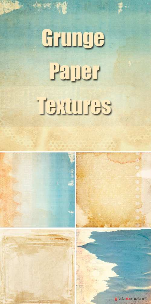 Stock Photo - Grunge Paper Textures