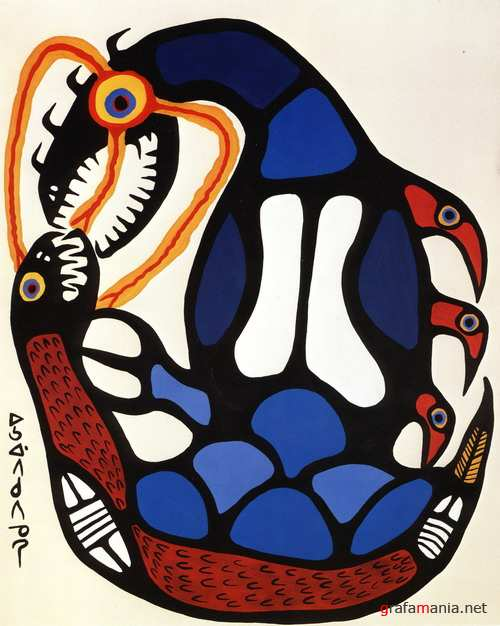 ������� ���������� ��������� ������� �������� / The Art of Norval Morrisseau