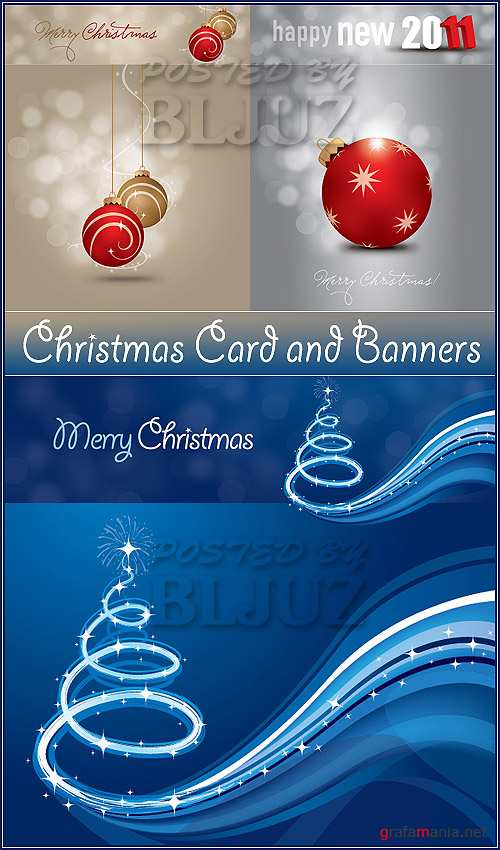 Christmas Card and Banners