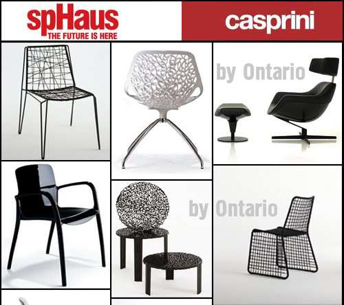 "3D Models Furniture ""Casprini"" & ""SpHaus"""
