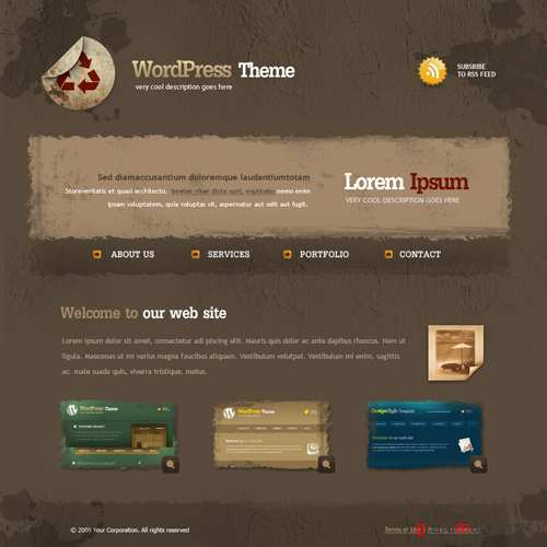 Website Templates  Abstract  5504