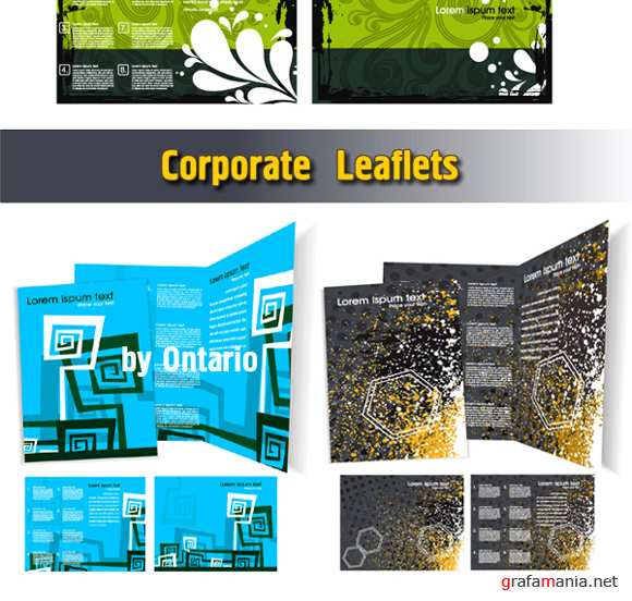 Corporate Leaflets