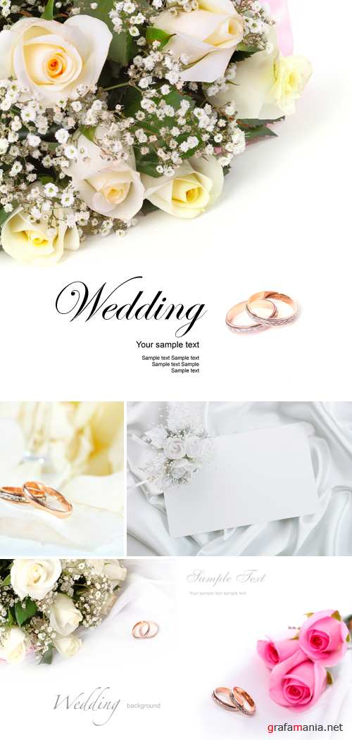Stock Photo - Wedding Backgrounds