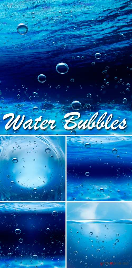Stock Photo - Water Bubbles