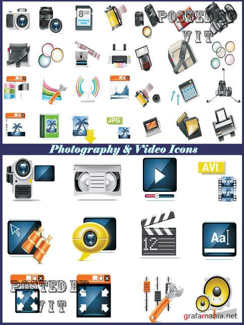 Photo and Video Icons 119
