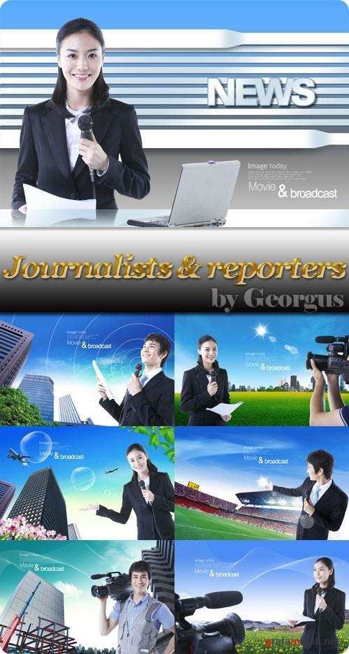 Journalists and reporters
