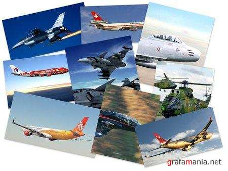 60 Great Airplanes Walllpapers