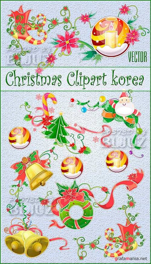 Christmas Clipart korea