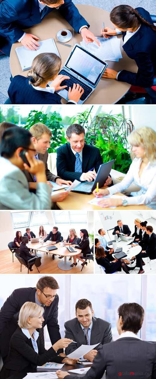 Stock Photo - Business Meeting