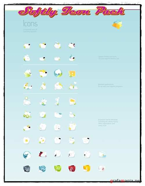 Softly Icon Pack 2010