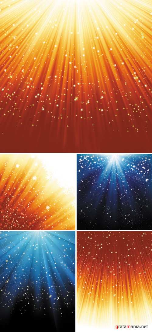 Stars Backgrounds Vector