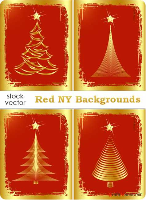 ��������� ������� - Red NY Backgrounds