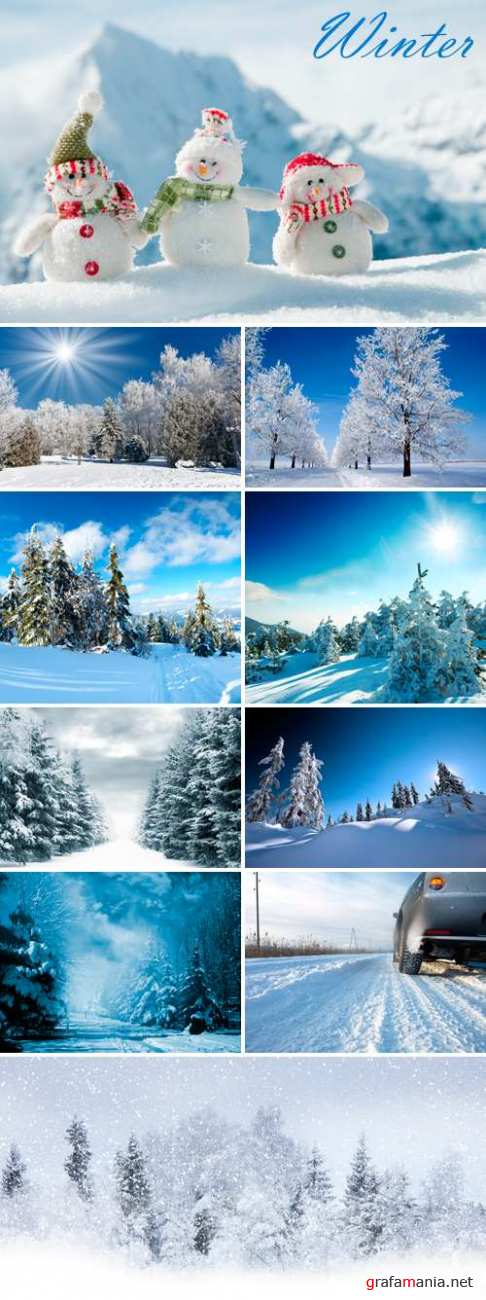 Stock Photo - Winter Landscapes