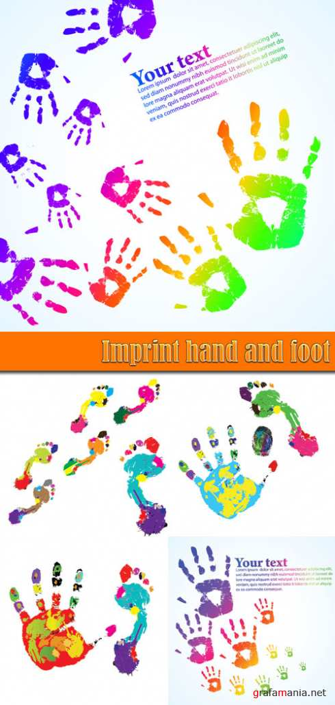 Imprint hand and foot