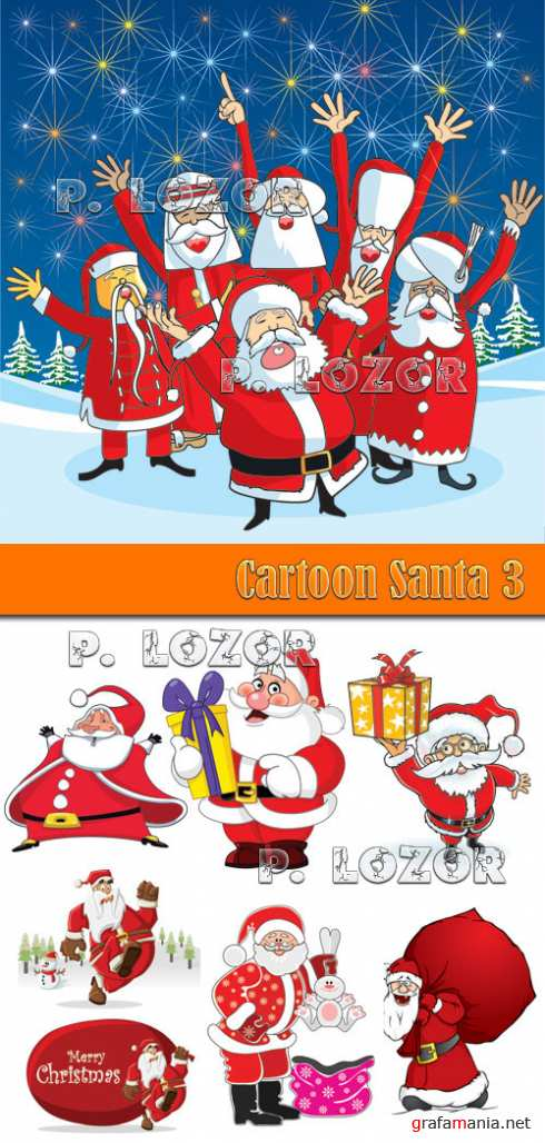 Cartoon Santa 3