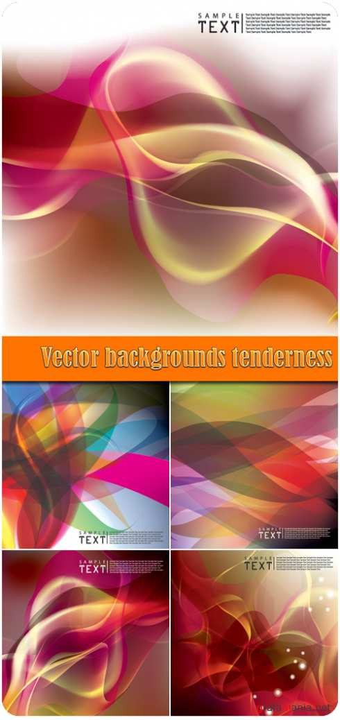 Vector backgrounds tenderness