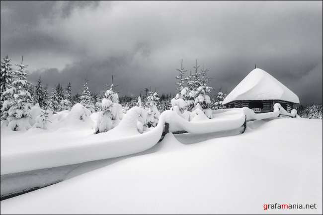 30 Wonderful Winter Snow Landscape Photographs