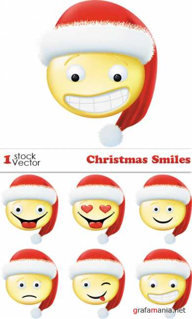 Christmas Smiles Vector