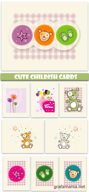 Cute childish card