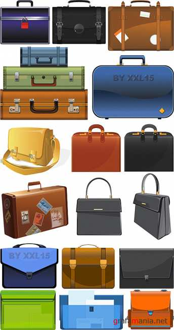 Suitcases and briefcases
