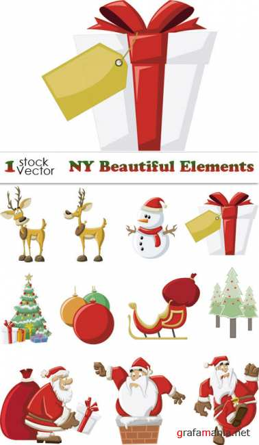 NY Beautiful Elements Vector