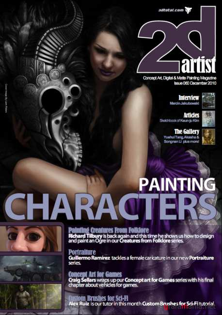 2DArtist Magazine. Issue 60 December 2010