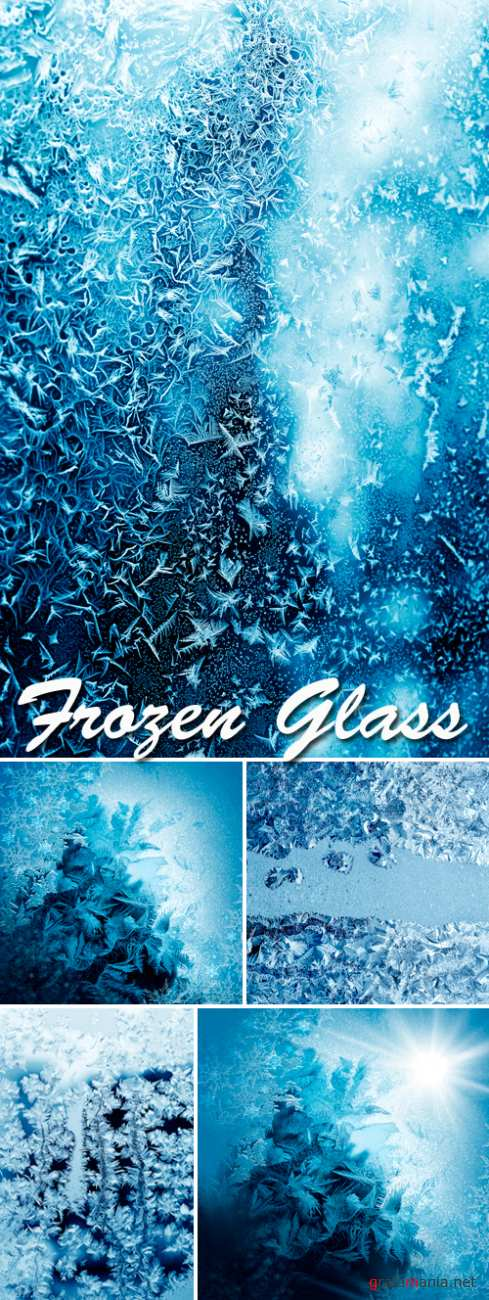 Stock Photo - Frozen Glass