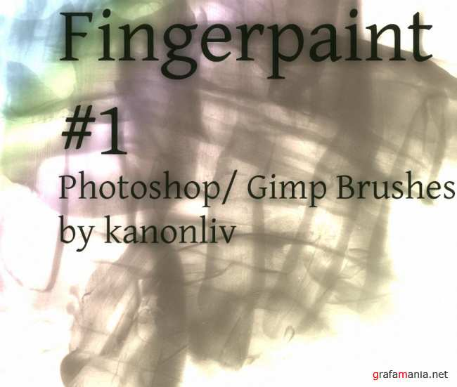 Fingerpaint brushes by kanonliv
