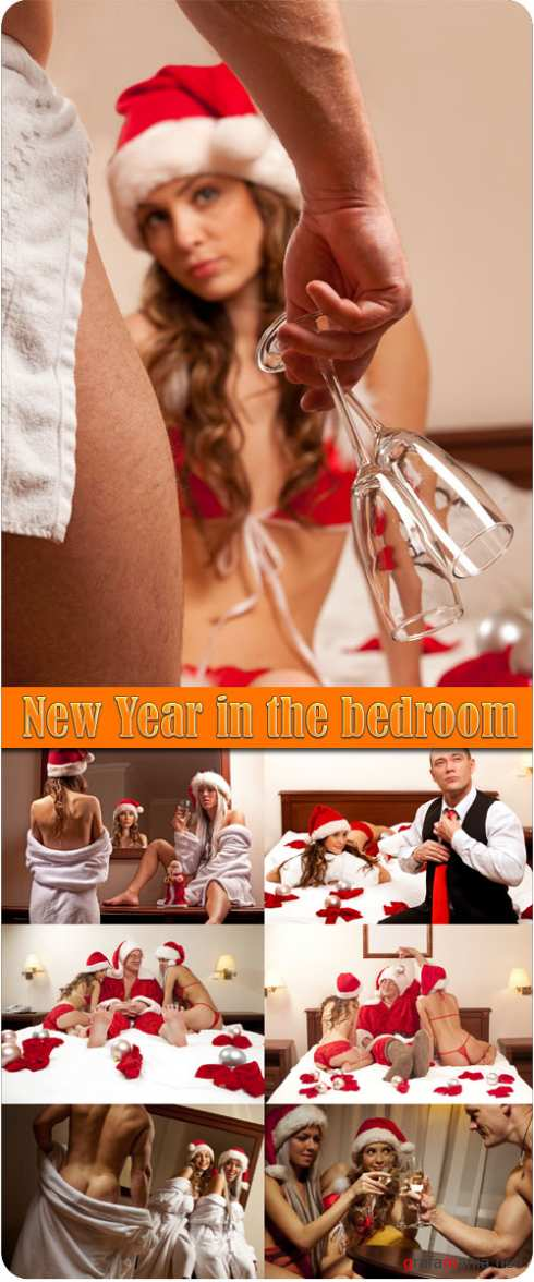 New Year in the bedroom