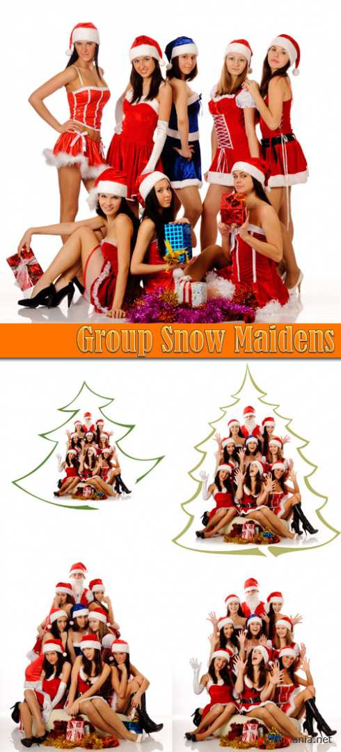 Group Snow Maidens