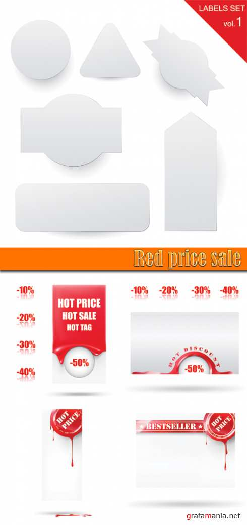 Red price sale