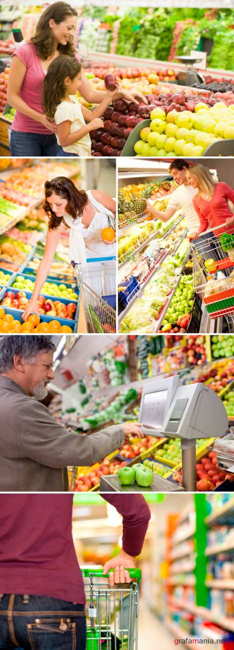 Stock Photo - Supermarket