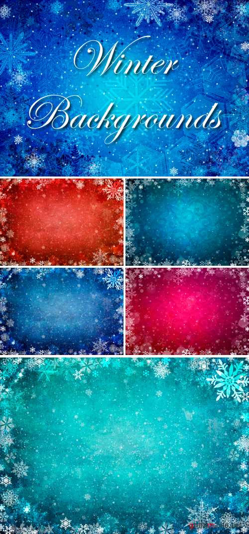 Stock Photo - Winter Backgrounds 2
