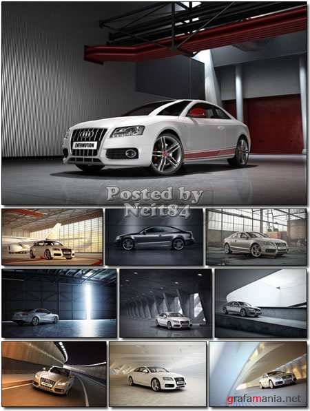 3D models professional shaders and lighting Car 2011