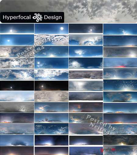 Textures and materials Hyperfocal Skies 2