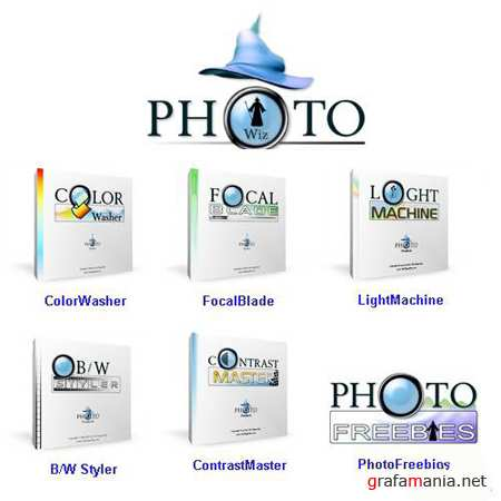 PhotoWiz Bundle 2011 Standalone & Adobe Photoshop & Lightroom (Русская версия)