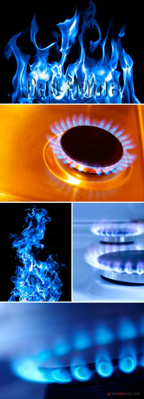 Stock Photo - Gas Flame