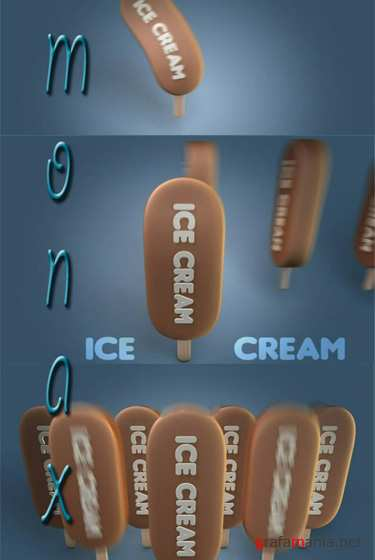 After Effects Projects Dancing Ice Cream Bar