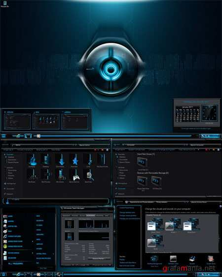 Blade Theme for Windows 7