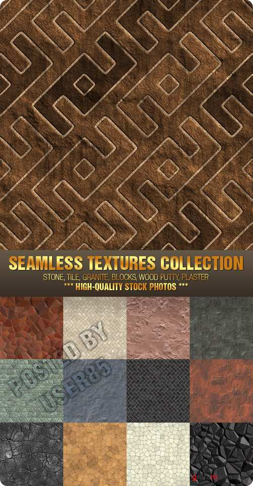 Stock Photo - Seamless Textures Collection