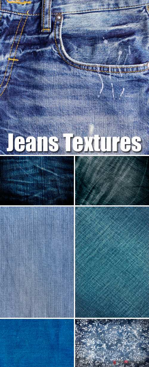 Stock Photo - Jeans Textures