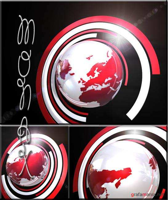 VideoHive motion broadcast world