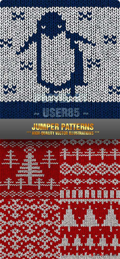Stock Vector - Jumper Patterns