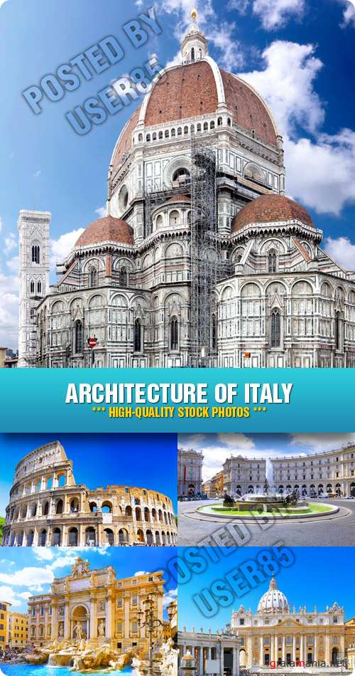 Stock Photo - Architecture of Italy