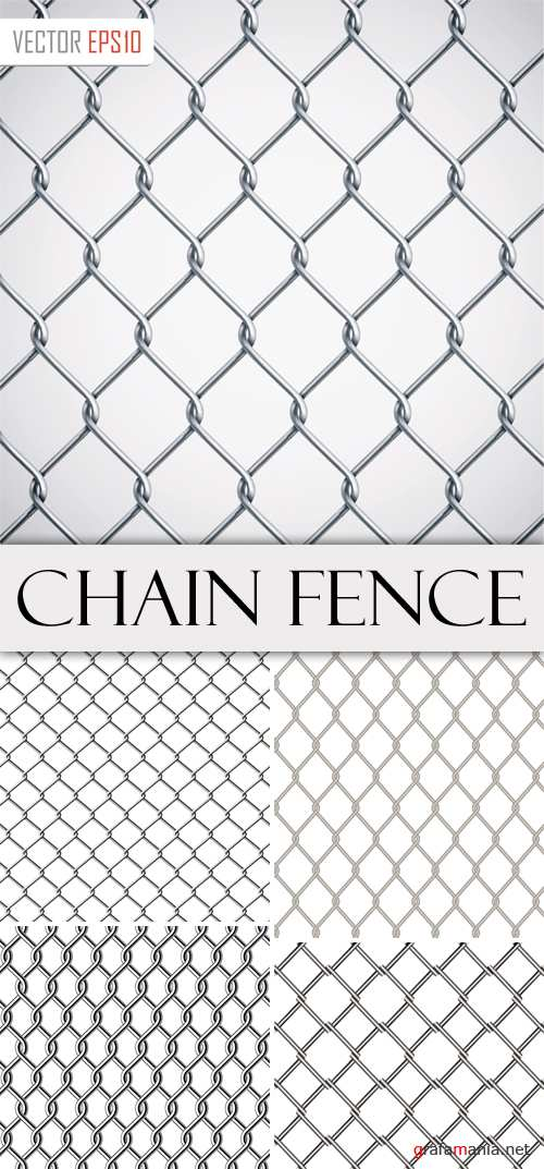 Chain Fence Vector Baclgrounds