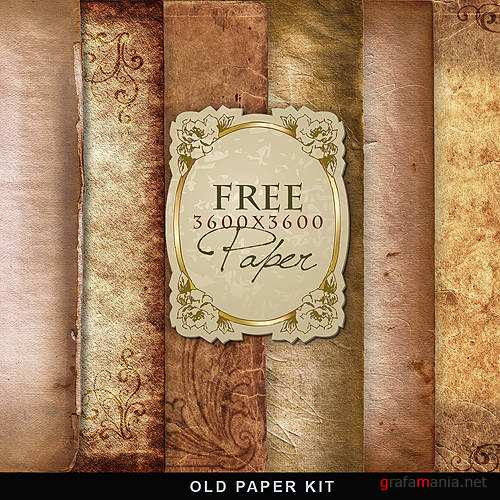 Текстуры – Old Papers Kit