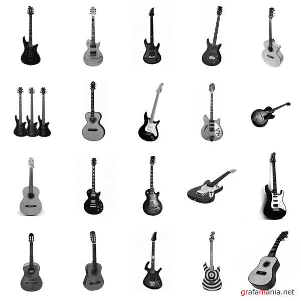 ����� ������ / 20 Guitar PS Brushes