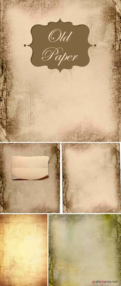 Stock Photo - Old Paper Backgrounds