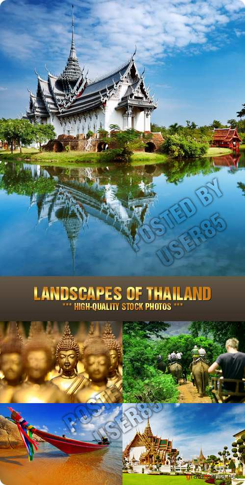 Stock Photo - Landscapes of Thailand